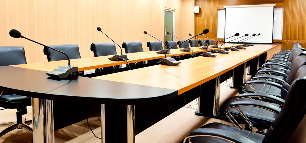 Hệ thống âm thanh hội thảo không thể thiếu trong các cuộc họp