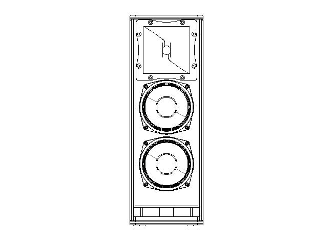 Loa Next HFA206p là sản phẩm cao cấp cho dàn karaoke chuyên nghiệp