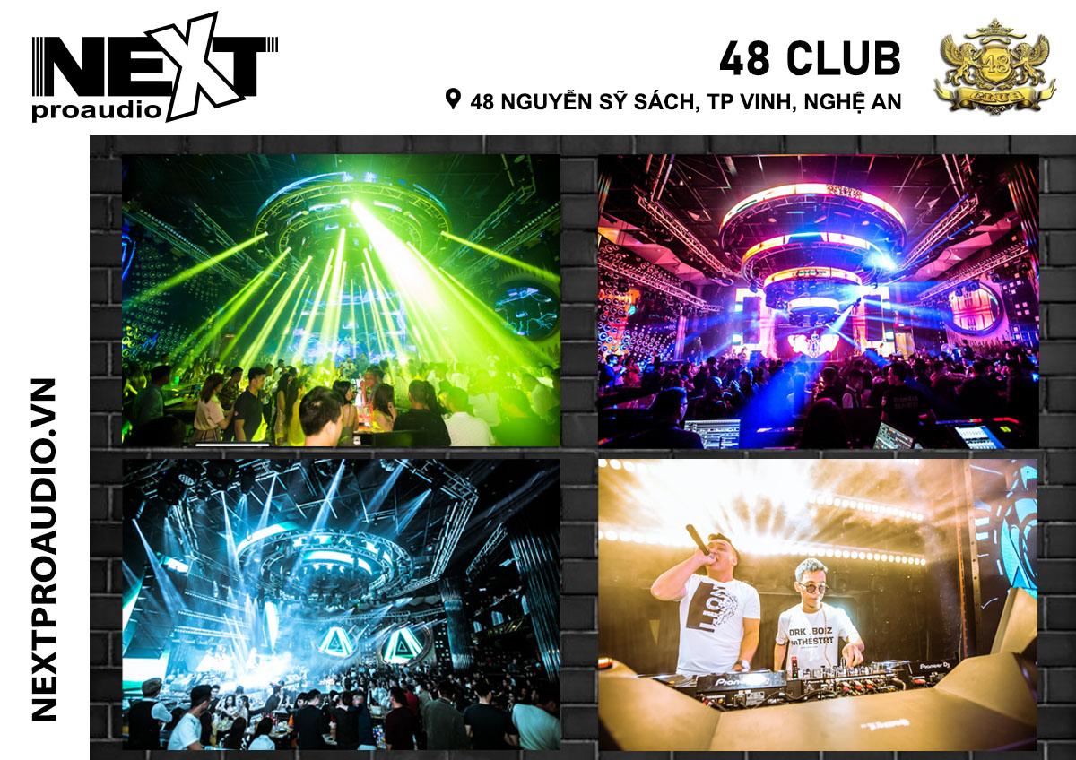 Hệ thông âm thanh vũ trường 48 Club - Nghệ An