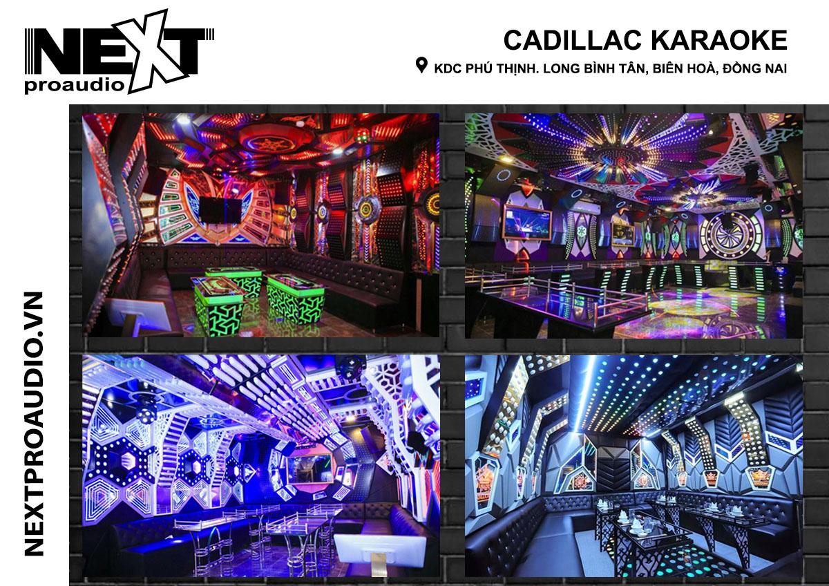 Lắp đặt âm thanh karaoke cho quán Cadillac - Đồng Nai