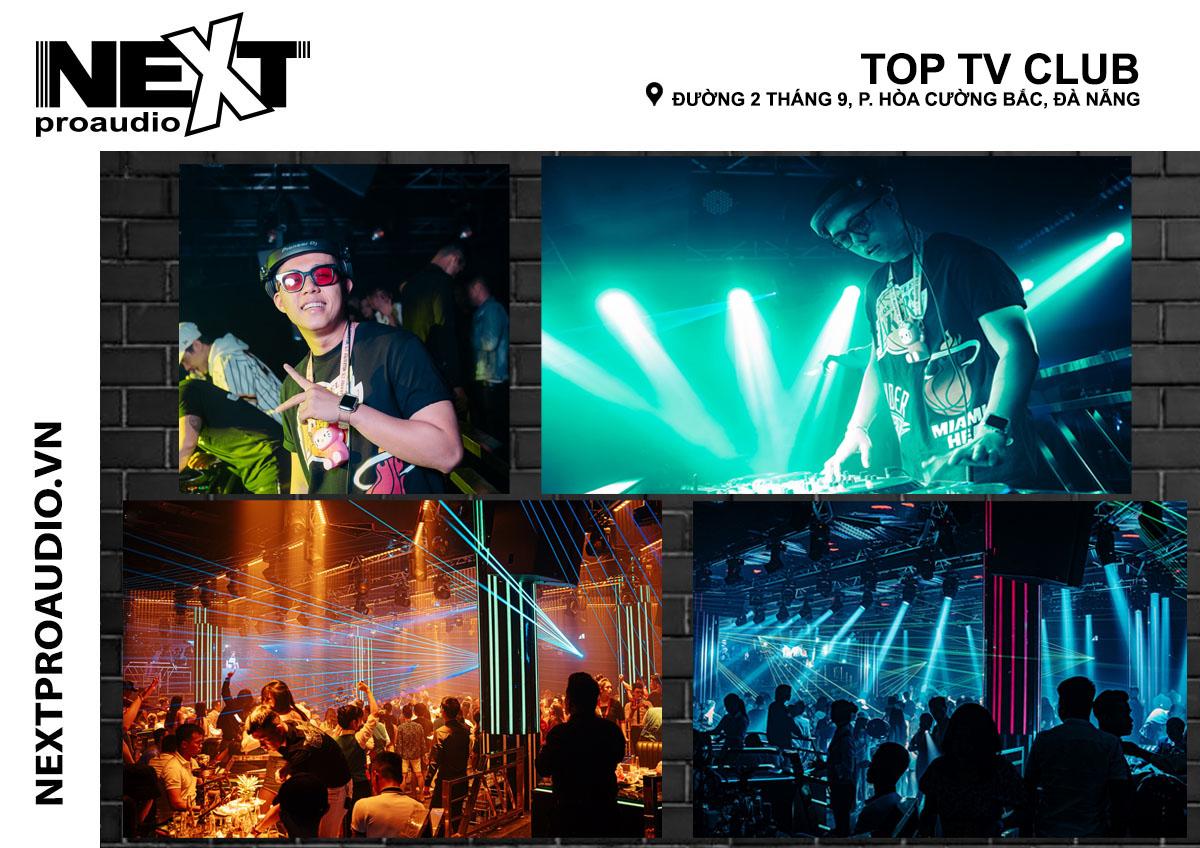 Hệ thống âm thanh Bar cho vũ trường Top TV Club - Đà Nắng