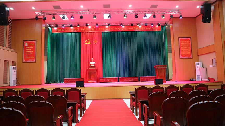 lắp đặt dàn âm thanh Next cho hội trường ủy ban Thành phố Bạc Liêu