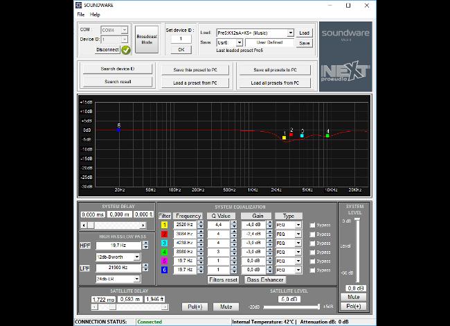 Loa Sub next HFA112s nextpro audio