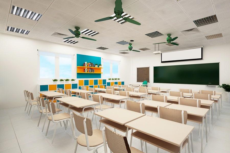 Lắp đặt hệ thống âm thanh trường học cho lớp học, giảng đường