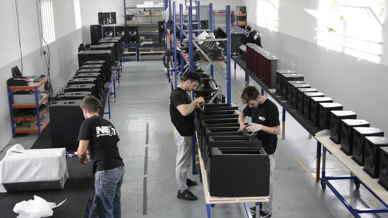 Hệ thống dây chuyền sản xuất tiên tiến