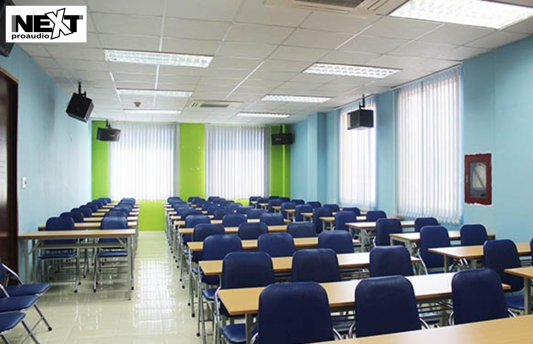 ưu điểm của hệ thống âm thanh lớp học next proaudio
