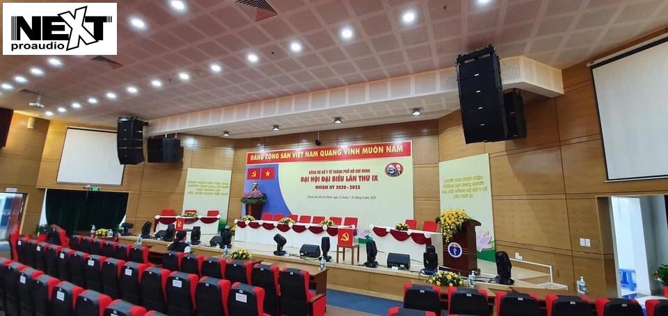 Dự án lắp đặt âm thanh hội trường UBND huyện Châu Thành Bến Tre