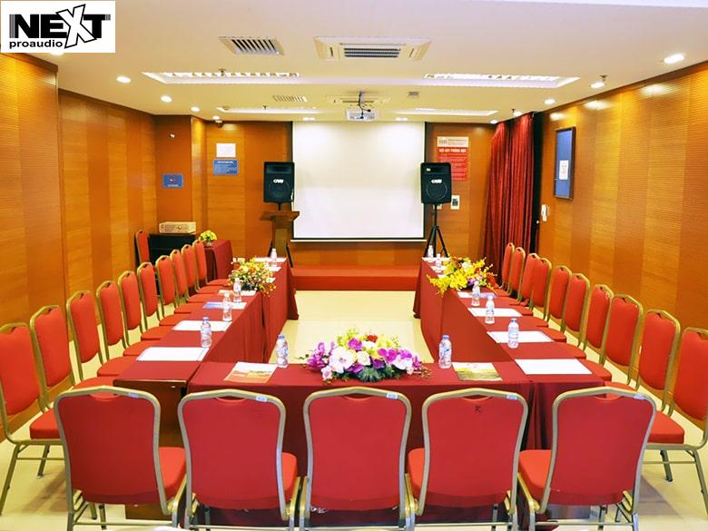 Dự án lắp đặt dàn âm thanh cho hội trường UBND huyện Giao Thuỷ