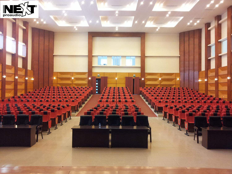 Lắp đặt âm thanh của Next cho học viện thanh thiếu niên Việt Nam
