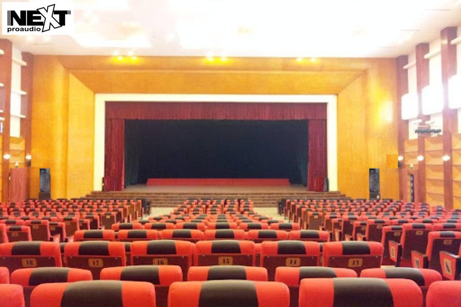 Dự án lắp đặt âm thanh hội trường cho học viện thanh thiếu niên Việt Nam