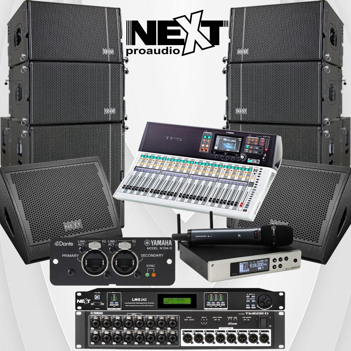 Về cấu hình cho dự án lắp đặt hệ thống âm thanh cho nhà hàng The Rooftop Bar