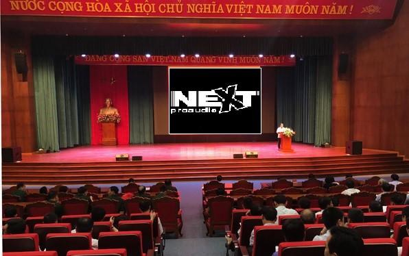 Dự án lắp đặt âm thanh hội trường cho UBND Thành phố Điện Biên