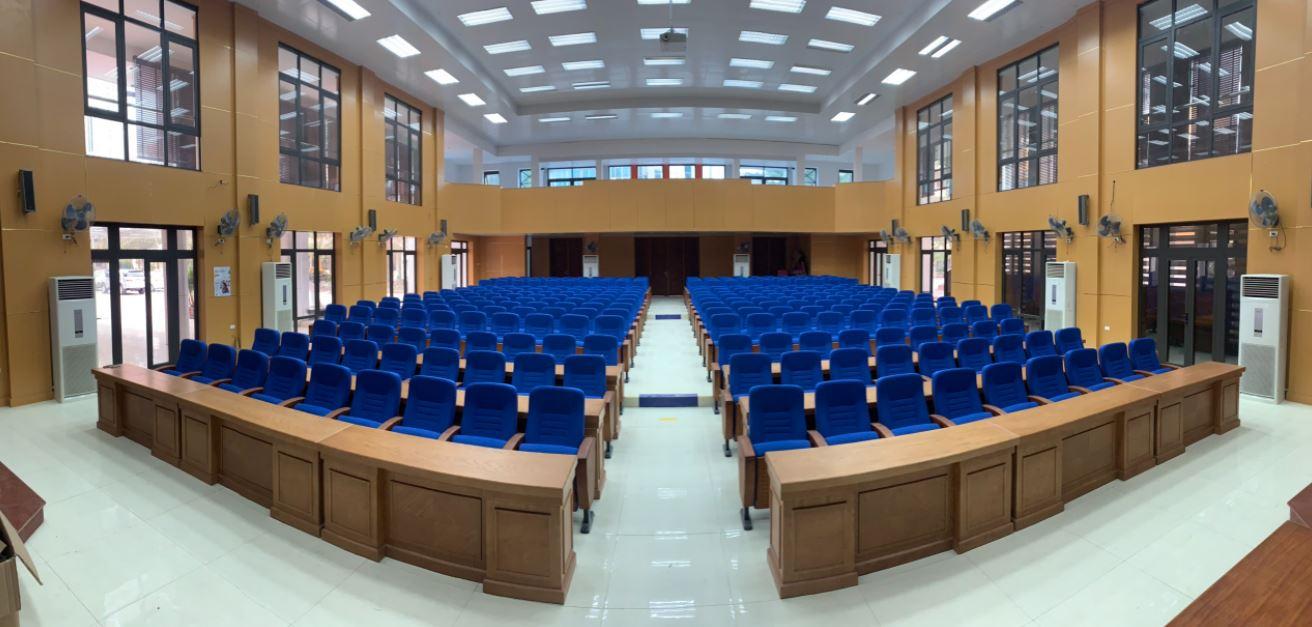 Dự án lắp đặt âm thanh cho hội trường Đại học kinh tế Hồ Chí Minh