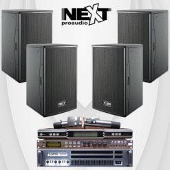 Hệ thống dàn âm thanh karaoke gia đình bộ dàn Next-005