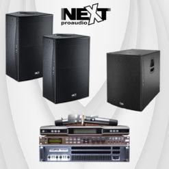 Hệ thống loa karaoke gia đình bộ dàn Next-009