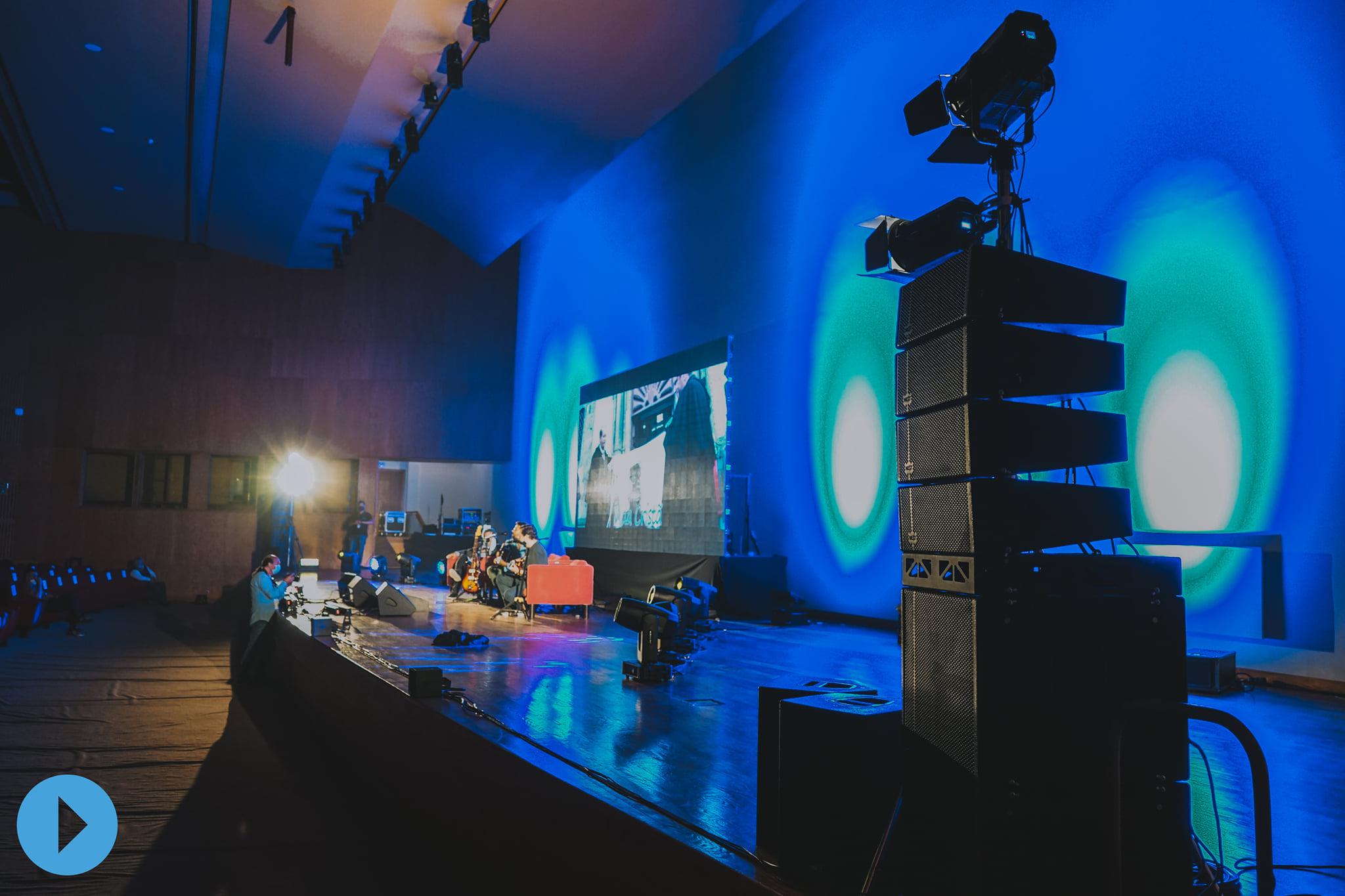 Hệ thống âm thanh sân khấu hội trường Nextproaudio
